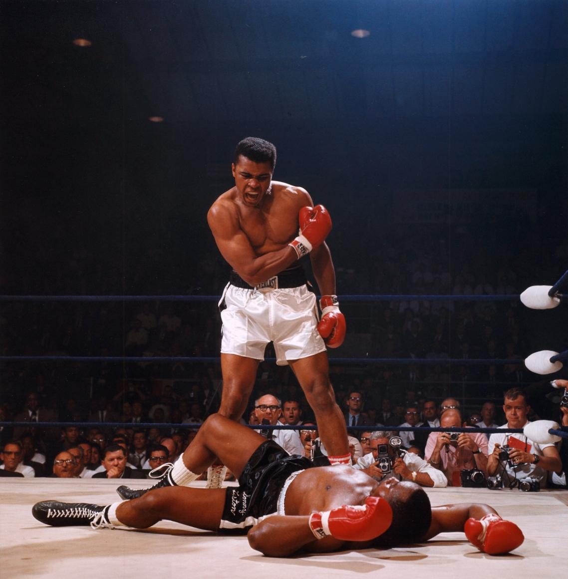 Neil Leifer photographie Muhammad Ali Sonny Liston